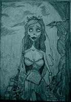 corpsebride by colorblindguardian