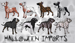 Halloween Magious and Rumi Sonqo import auction by ModMii