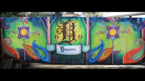 Botanica Garden Cafe Mural by Simanion