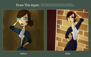 Draw This Again Challenge - Victorian. by katidoodlesmuch