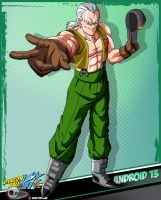 DBKai card #13 Android 13 by Bejitsu