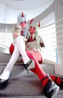 Scanty  Knee socks by konohacosplay