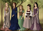 Ladies of Middle Earth by SugarLandBabyGirl