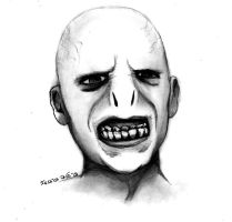 Voldemort - Traditional Art by DysfunctionalHuman