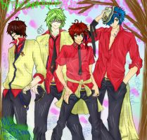 ML academy boys (crimson gem my yaoi characters) by 786sanary123