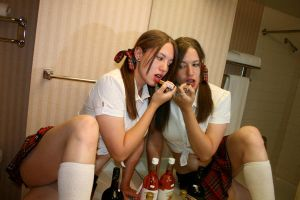 Sinful Schoolgirl 5 by 2omb13stock
