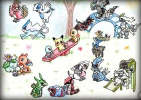 Pokepark by Riolu4aural