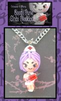 Bloody Nurse Chibi Necklace by Octopop-n-Aicing
