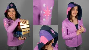 Twilight Sparkle Hoodie by SewDesuNe