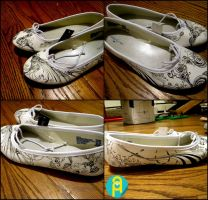 custom shoes for mimi by amaharjan