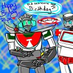 Birthday for my papa :D by DraginFli