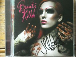 Jeffree Star autograph by bluerosemoon1017
