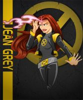 Jean Grey by racookie3