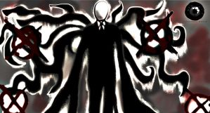 Slender Man - Blood by TheVictimOfReality
