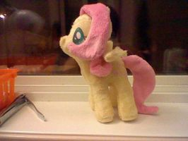 Small Fluttershy Plush by Browntown747
