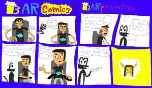 BARcomics #2: If Larry had a voice actor by BARproductions