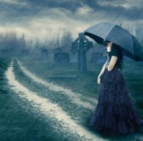 I cry with the rain by olkag