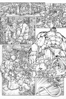 Inked Page by pant