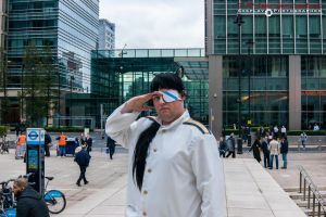 Maj. Sakamoto, Canary Wharf by TPJerematic