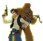 Solo and Chewy by Finfrock