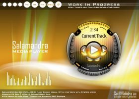 Salamandra Media Player WIP by Flahorn