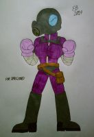 The Mysterious Masked Fighter by shnoogums5060