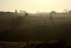 Fog on the Barrow-downs by Galendae