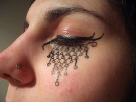 Gothic Eye Make-up 1 by skillie
