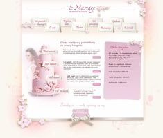 wedding planner webdesign by Magdusia