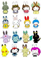 Generation Miffy- Asian editio by likimonster