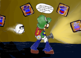 Luigi's mansion comic 4 by metamorro