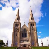 armagh cathedral 02. by sunburntchaos