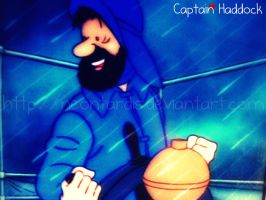 Captain Haddock by NeonTardis