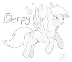 Derpy Hooves by DJC631