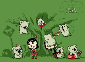 Woot Shirt - Drop Bears v2 by fablefire