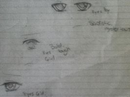 Eyes I drew by AnimeGirlRaina