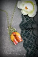 Coy Koi: Mermaid Vulva Necklace by VulvaLoveLovely