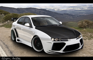 Alfa Romeo 159 Virtual Tuning by djlupix