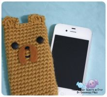 Jake Cell Phone Cozy 1 by moofestgirl