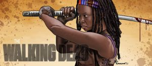 Michonne by ted1air