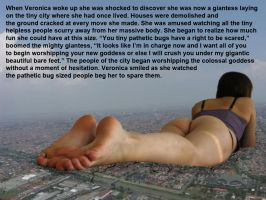 She Becomes A Mega Giantess by youranus32