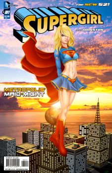 Supergirl: 7 years later by Spacecowboytv