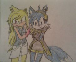 Best Friends - Rica and Suni by A5L
