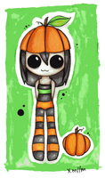 Her name is Pumpkin by xMoshyMCCOY
