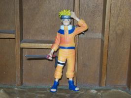 Naruto figure by stopmotionOSkun