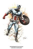 Captain America 032511 by ChrisMcJunkin