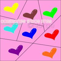 Pack Corazones lindos Pngs by Norgelys