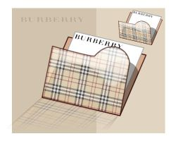Folder icon:BURBERRY check by sarumonera