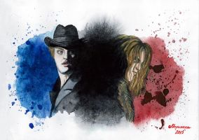 Rorschach test for Dr. Jekyll by Walkuere
