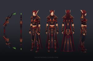 Royal Archer shots by NightWong
